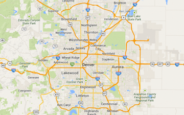The Denver 100 Map Search