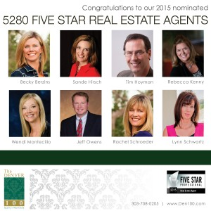 Denver Real Estate Five Star Agents