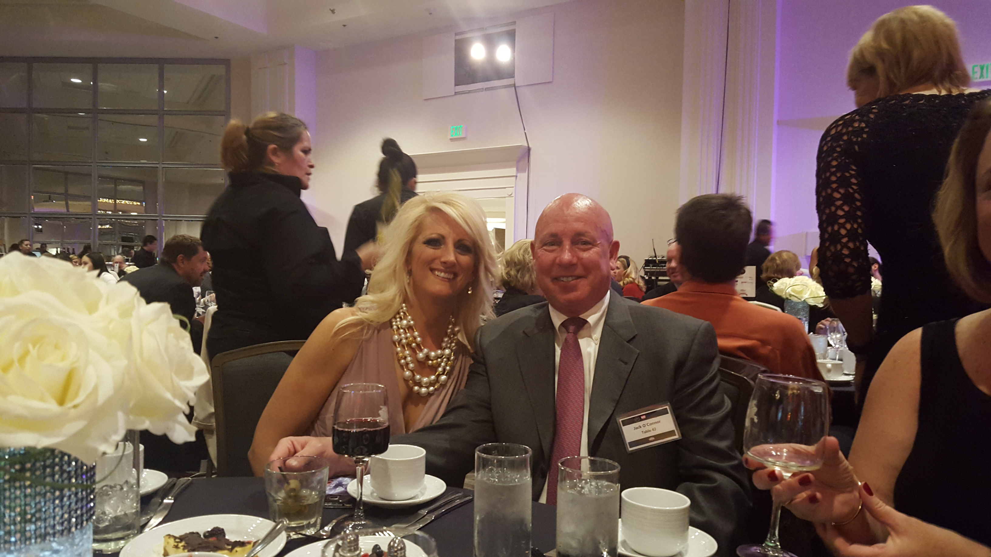 Jack O'Connor, Broker/Owner of The Denver 100 and Kimberly Plauf, Owner of Luxury Moving Services