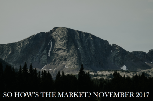 So How's The Market? November 2017