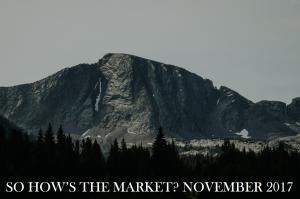 So How's The Market? November 2017