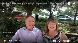 Becky and Roy Kenny – Spotlight Agents with The Denver 100