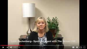 Leah Aschenberg – Spotlight Agent with The Denver 100