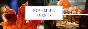 Denver Events in November